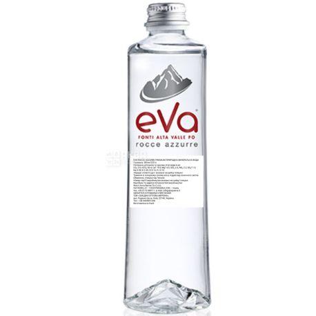 Acqua Eva Premium, 0,33 л, Аква Эва Премиум, Вода горная, газированная, стекло