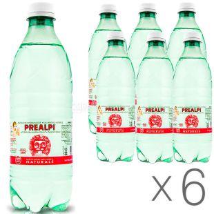 Fonti Prealpi, 0.5 L, Pack of 6 pcs, Fonti Prealpi, Mineral water, still, PET