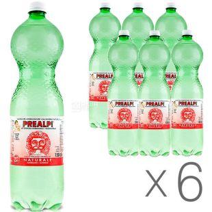 Fonti Prealpi, 1,5 л, Упаковка 6 шт., Фонти Преалпи, Вода минеральная, негазированная, ПЭТ