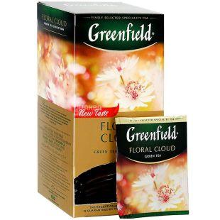 Greenfield, Floral Cloud, 25 пак., Чай Гринфилд, Флорал Клауд, зеленый