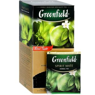 Greenfield Spirit Mate, Packaged tea, 25pcs