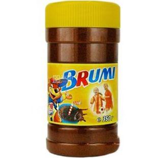 Brumi, Какао, 350 г, Брумі, Напій вітамінізований, з кальцієм, розчинний