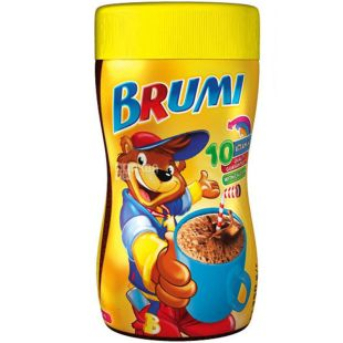 Brumi, Cocoa, 350 g, Brumi, Beverage fortified, with calcium, instant