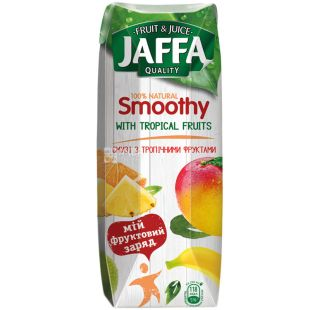 Jaffa Smoothy Wild Berries, Tropical Fruits, 0.25 L, Jaffa, Natural Smoothies
