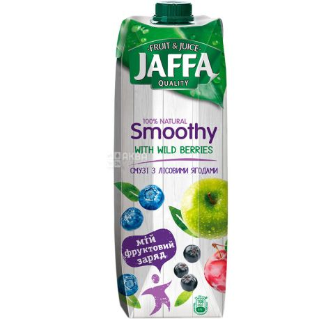 Jaffa Smoothy Wild Berries, Лесные ягоды, 0,95 л, Джаффа, Смузи натуральный