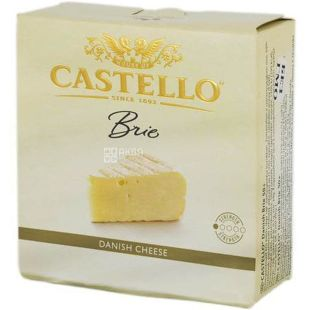 Castello Brie, White Mold Cheese, 125 g
