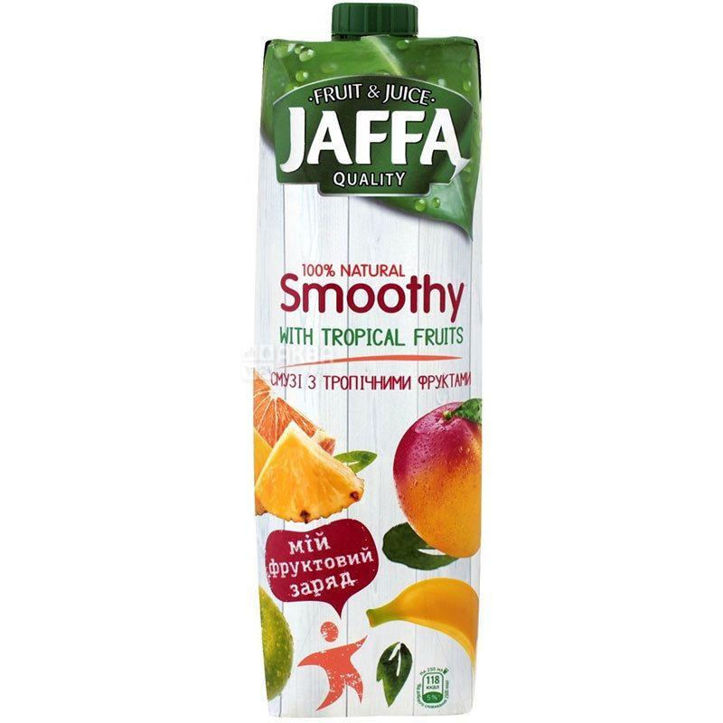Jaffa Smoothy Wild Berries, Тропічні фрукти, 0,95 л, Джаффа, Смузі натуральний