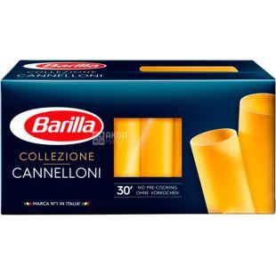 Barilla Cannelloni Collezione, 250 г, Макароны Барилла Каннеллони