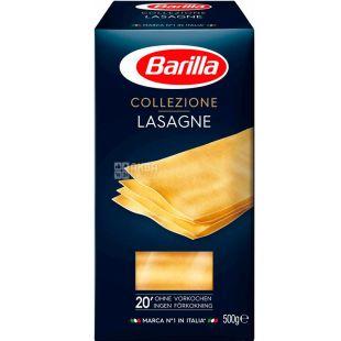 Barilla Lasagne Collezione, 500 г, Макароны Барилла Лазанья