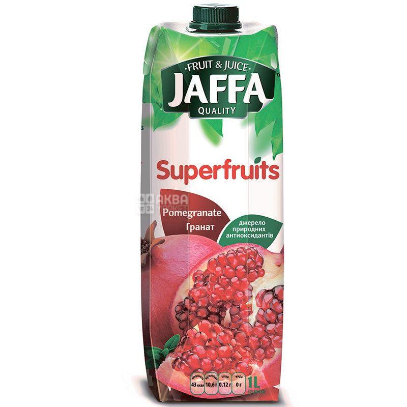 Jaffa, Superfruits, Гранатовий, 1 л, Джаффа, Нектар натуральний