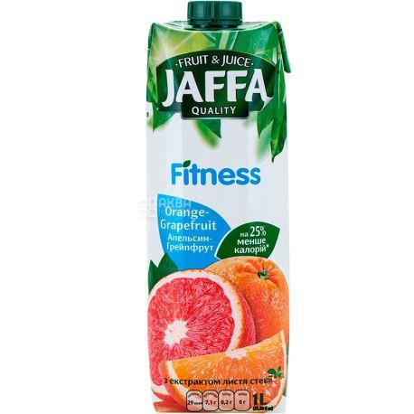 Jaffa, Fitness, Апельсин-грейпфрут, 1 л, Джаффа, Нектар натуральний