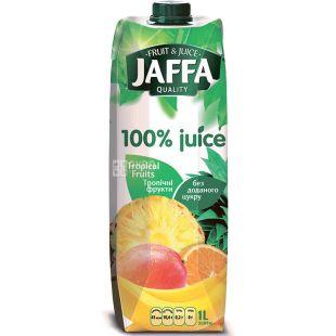 Jaffa, Tropical Fruits, Тропические фрукты, 1 л, Джаффа, Нектар 100% натуральный