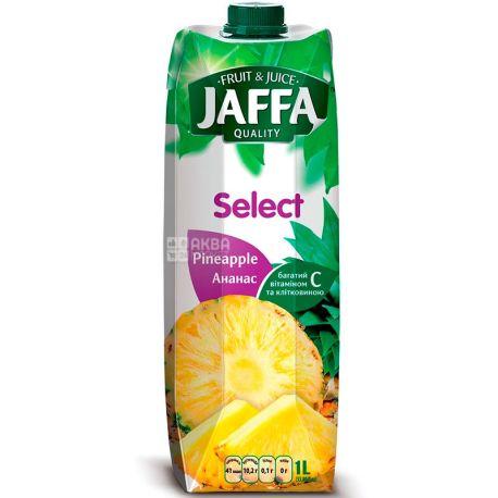 Jaffa, Select, Ананасовый, 1 л, Джаффа, Нектар натуральный