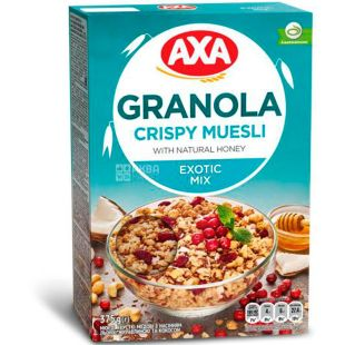AXA, 375 g, Muesli, Crispy, Exotic Mix