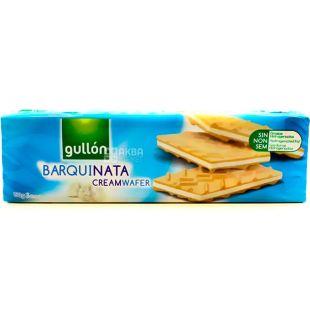 Gullon Barquinata, 150 g, Gullon Waffles, Vanilla Flavored