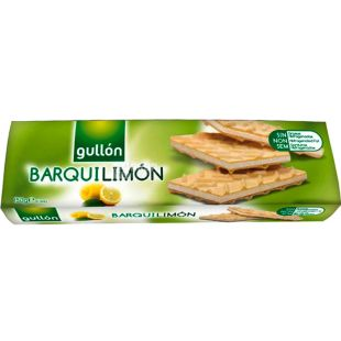 Gullon Barquilimon, 150 г, Вафлі Гуллон Барквілімон, зі смаком лимона