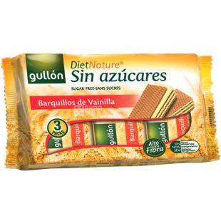 Gullon Diet Nature, 210 g, Waffles Gullon Diet Natur, Vanilla, Sugar Free