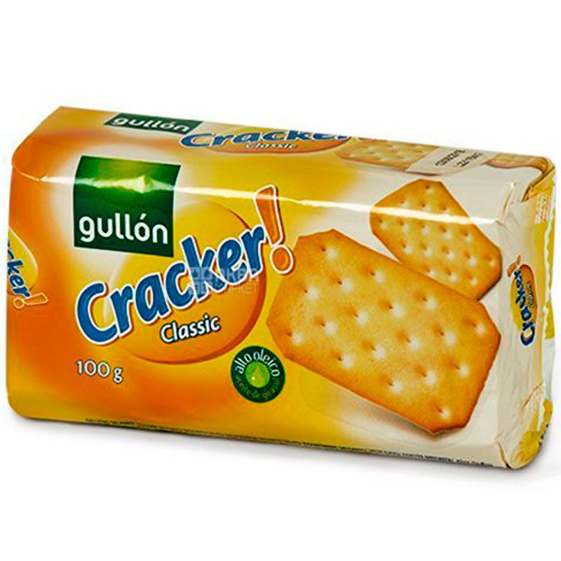 Gullon Cracker Classic, 100 g, Gullon Classic, Cookies Cracker