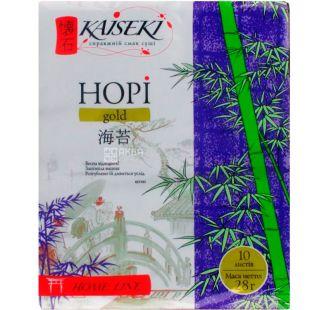 Kaiseki, Nori Gold, 10 листов, Водоросли для суши, 28 г