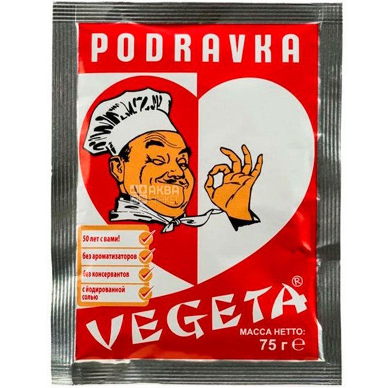 Vegeta, 75 г, Приправа c овощами, Универсальная