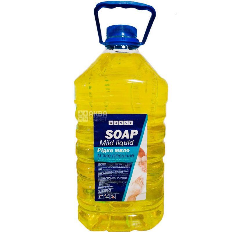 Donat, 5 л, Жидкое мыло, Лимон, ПЭТ