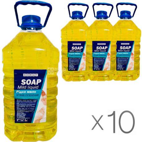 Donat, pack of 10 pcs. on 5 l, liquid soap, PET