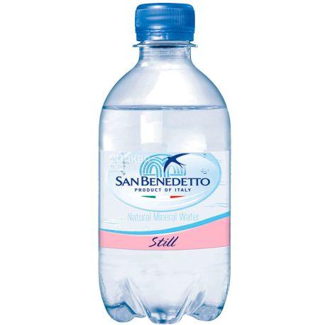 San Benedetto, 0,33 л, Сан Бенедетто, Вода минеральная негазированная, ПЭТ