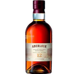 Aberlour, Виски 12 лет, 0,7 л, тубус