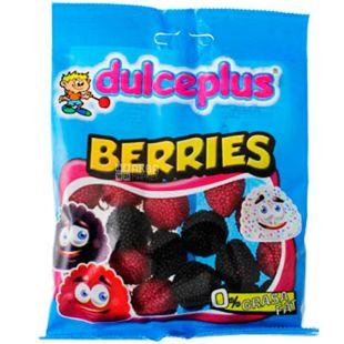 Dulceplus, 100 г, Дульчеплюс, Дикі ягоди, Жувальні цукерки, без глютену
