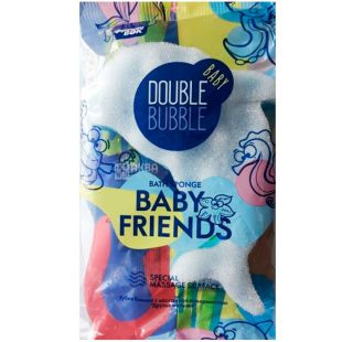 Фрекен Бок Baby Friends, 1 шт., Губка банна масажна Бейбі Френдс