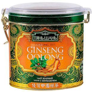 Тянь Шань, Ginseng Oolong, 170 г, Чай Женьшень Улун, зеленый, ж/б