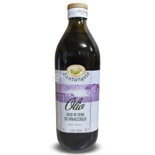 Santangelo Grape Seed Oil 1л, Масло из виноградных косточек Сантанжело, стекло