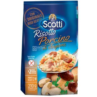 Scotti, Risotto tartufo, 210 г, Скотти, Смесь для ризотто, белый рис с трюфелями