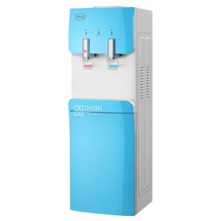 ViO X217-FEC Blue, Floor-mounted water cooler with electronic cooling