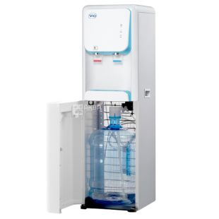 ViO X1708-FCB white / blue, Floor-mounted cooler with compressor cooling