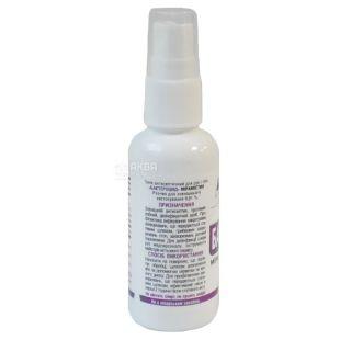 Эликсир, Тоник антисептический для рук и тела Бактероцид Мирамистин, 50 мл
