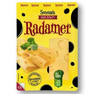 Serenada Radamer, 135 г, Сыр Серенада Радамер, 45%, нарезанный