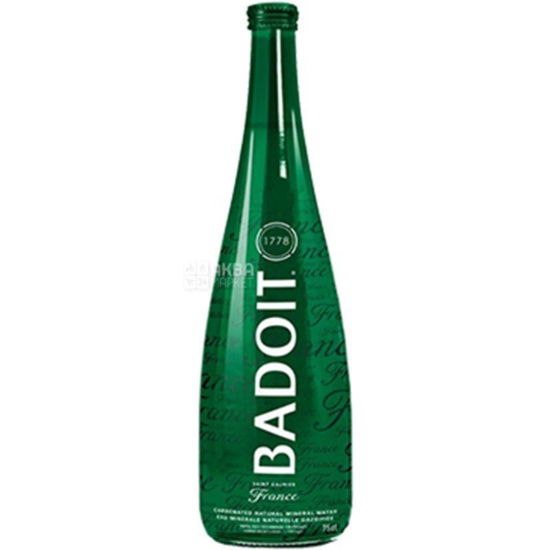 Badoit, Вода минеральная газированная, 0,75 л, стекло