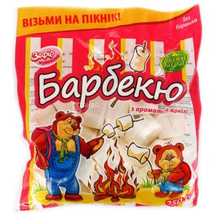 Lesnaya Skazka, 250g, Chewy marshmallow barbecue, with a taste of vanilla