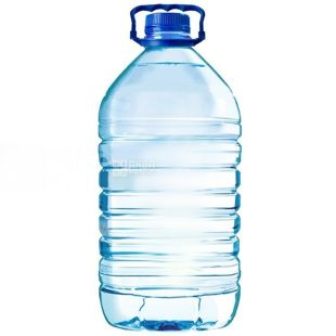 Bottle, 10 l, With lid and handle, PET