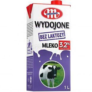 Mlekovita 1л, 3,2%, Молоко безлактозное Млековита, ультрапастеризованное