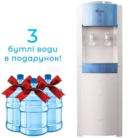 Bio Family WBF-1000 LA Blue, Кулер для воды с компрессорным охлаждением, напольный