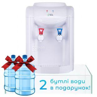 Ecotronic K1-TE White, Кулер для воды с электронным охлаждением, настольный