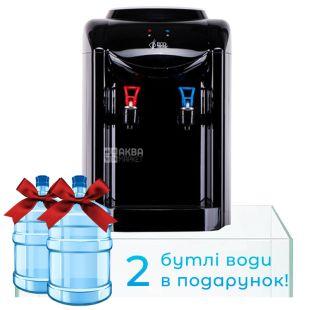 Ecotronic K1-TE Black, Кулер для води з електронним охолодженням, настільний
