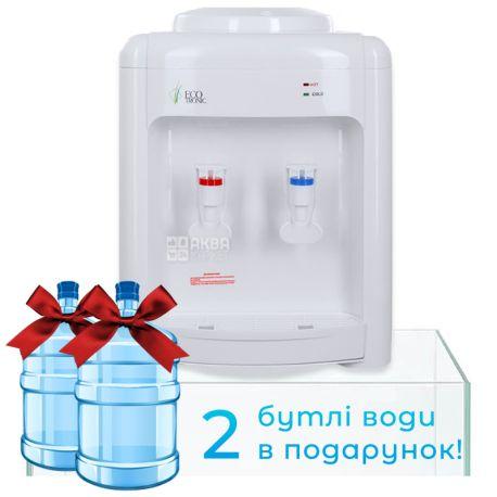Ecotronic V22-TE White, Кулер для води з електронним охолодженням, настільний