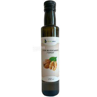New Oils Group, 0,25 л, Олія волоського горіха, скло