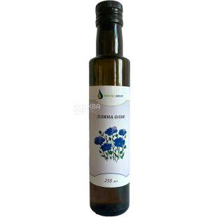 New Oils Group, 0,25 л, Масло льняное, стекло