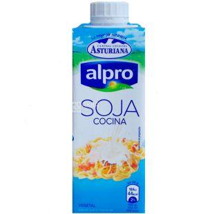 Alpro, 250 мл, Сливки АЛПРО растительные, соевые