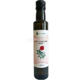 New Oils Group, 0,25 л, Олія з насіння маку, скло