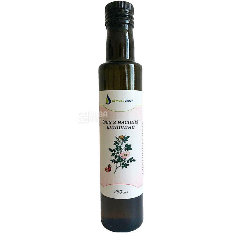 New Oils Group, 0,25 л, Масло из семян шиповника, стекло